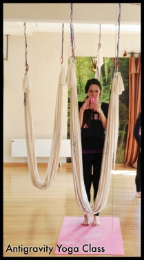 My First Try at Anti-Gravity Yoga