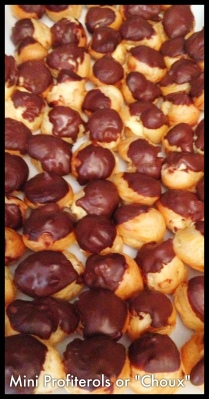 Choux or Mini Profiteroles