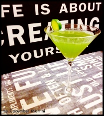 My Cucumber Martini!