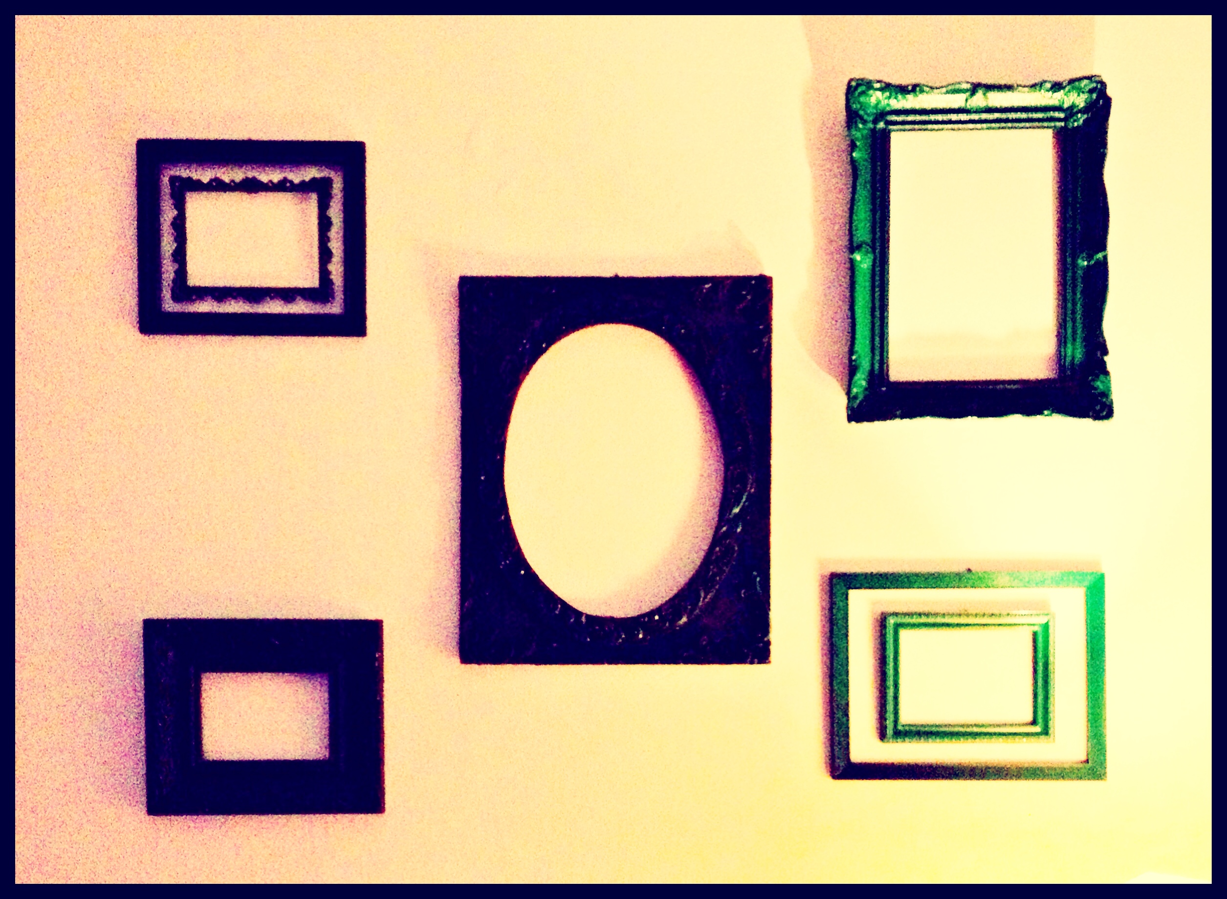 Do it yourself picture frame collage yoggis way annie frames 9 solutioingenieria Choice Image