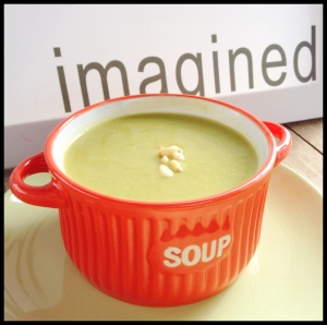 Green Veggies Cream Soup