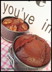 oatmeal brownie 1
