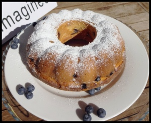 Blueberry Bundt Cake 1