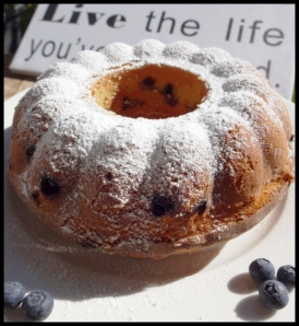 Blueberry Bundt Cake 2