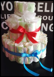 Do It Yourself Diaper Cake