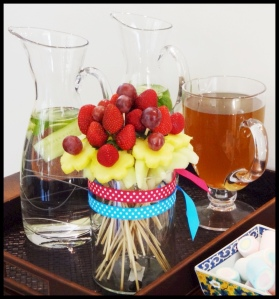 DIY Fruit Bouquet 1