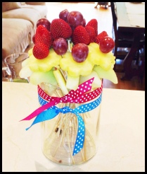 DIY Fruit Bouquet 2