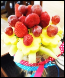 Do It Yourself Fruit Bouquet