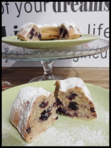 Healthy Blueberry cake 4