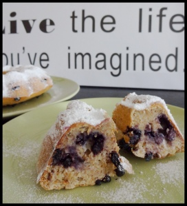 Healthy Blueberry cake 5