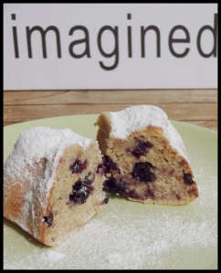 Healthy Blueberry cake 7