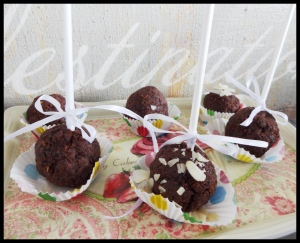 Healthy Chocolate Cake Pops