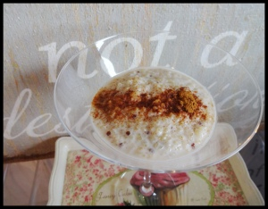 Healthy Rice Pudding 2